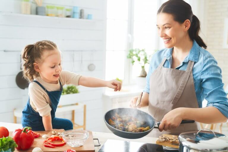 community_building_apartment_resident_family_cooking